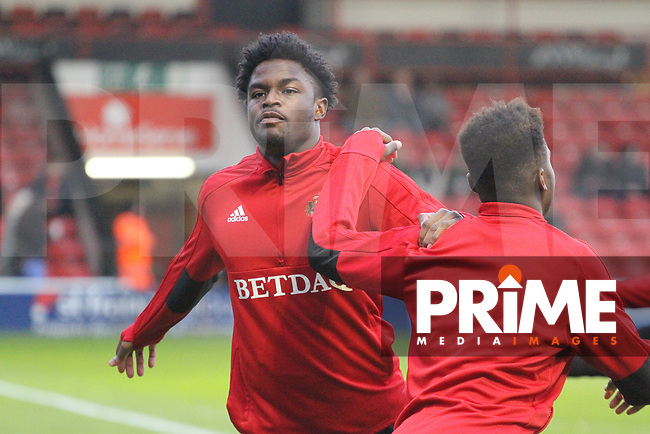 Pre-Match shots during the Sky Bet League 1 match between Walsall and Sunderland at the Banks's Stadium, Walsall, England on 24 November 2018. Photo by James  Gill / PRiME Media Images.