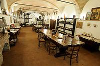 Interno dell'agriturismo Cascina del Monastero, ad Annunziata, frazione di La Morra, in Piemonte.<br /> Interior of the Cascina del Monastero farm holidays in Annunziata, frazione di La Morra, Piedmont.<br /> UPDATE IMAGES PRESS/Riccardo De Luca