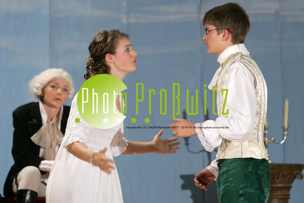 2 Inszenierung Von Schillers Kabale Und Liebe Photo Prosswitz