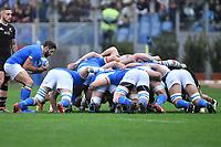 Tito Tebaldi Italy.<br /> Roma 24-11-2018  Stadio Olimpico,<br /> Rugby Cattolica Test Match 2018<br /> Italia vs Nuova Zealanda / Italy vs New Zealand <br /> Photo Antonietta Baldassarre / Insidefoto