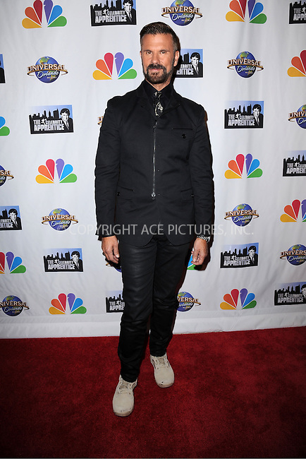 WWW.ACEPIXS.COM<br /> February 16, 2015 New York City<br /> <br /> Lorenzo Lamas arriving to the Celebrity Apprentice Finale viewing party and post show red carpet on February 16, 2015 in New York City.<br /> <br /> Please byline: Kristin Callahan/AcePictures<br /> <br /> ACEPIXS.COM<br /> <br /> Tel: (646) 769 0430<br /> e-mail: info@acepixs.com<br /> web: http://www.acepixs.com