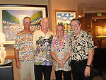 Guy and his long time associates on Maui;<br />