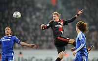 FUSSBALL   CHAMPIONS LEAGUE   SAISON 2011/2012   GRUPPENPHASE Bayer 04 Leverkusen - FC Chelsea    23.11.2011 John Terry (li, Chelsea) gegen Stefan Kiessling (re, Leverkusen)