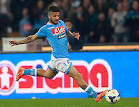 Calcio, Serie A: Napoli vs Juventus. Napoli, stadio San Paolo, 30 marzo 2014. <br /> Napoli forward Lorenzo Insigne in action during the Italian Serie A football match between Napoli and Juventus at Naples' San Paolo stadium, 30 March 2014.<br /> UPDATE IMAGES PRESS/Isabella Bonotto