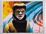 Garden City, New York. 15th June 2013. A 'Star Trek' 2009 film still, autographed by child actor Jacob Kogan who portrayed Young Spock, is one of many collectibles for sale at Eternal Con Pop Culture Expo, which was hosted by the Cradle of Aviation Museum of Long Island.
