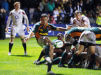 Photo: Richard Lane/Richard Lane Photography. England U20 v South Africa U20. Semi Final. 18/06/2008. South Africa's Francois Hougaard kicks.