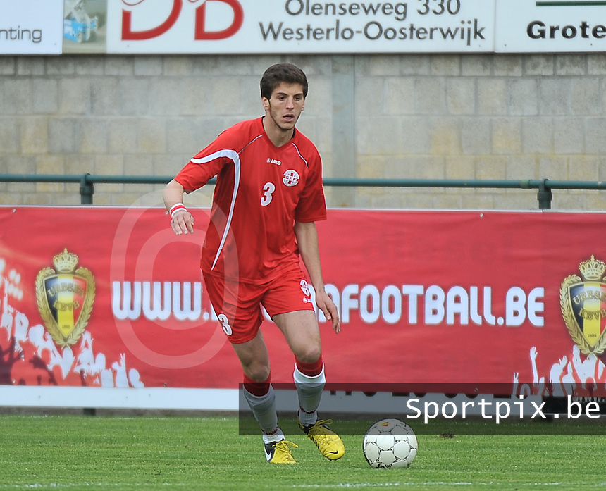 Scotland U19 - Georgia U19 : Lasha Dvali.foto DAVID CATRY / Nikonpro.be