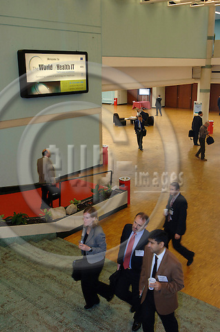 GENEVA - SWITZERLAND 12. 10. 2006 -- The World of Health IT. -- PHOTO: GORM K. GAARE / EUP- IMAGES ...