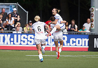 Tukwila, WA - Sunday, August 31, 2014: FC Kansas City defeated Seattle Reign FC 2-1 to win the 2014 NWSL Championship at Starfire Sports Stadium.