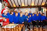Bardic Festival Christmas Market: The choir of Liselton NS singing at the Bardic Festival Christmas market at the the Thatch Bar, Liselton on Saturday last.