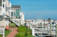 Bayside condos, Stone Harbor, New Jersey, USA
