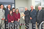 Officially opening the new extension to Fossa National School in Killarney .L-R Chairman of Parents Council at Fossa National School Brendan Myers, Principal Kieran Coffey, Alec Rennie, Abigail Graham, Katie Talbot, Bishop Bill Murphy, Chairperson of the Bord of Management at Fosssa NS Dermot Griffin and Fr Brendan Harrington.