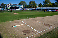 View of the wicket prior to Essex CCC vs Nottinghamshire CCC, Specsavers County Championship Division 1 Cricket at The Cloudfm County Ground on 16th May 2019