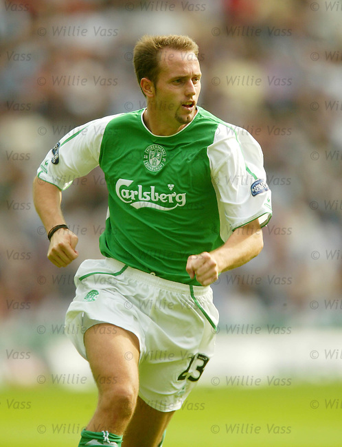 Alen Orman, Hibs.stock season 2003-04..pic willie vass
