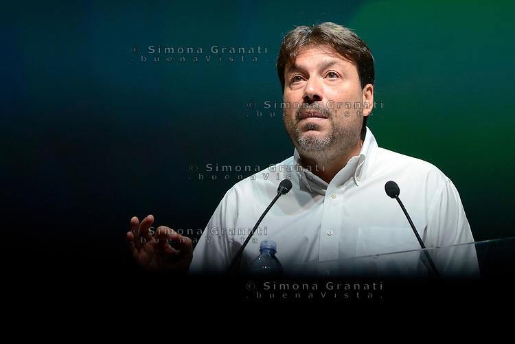 Roma, 18 Giugno 2017<br /> Tomaso Montanari<br /> Assemblea al Teatro Brancaccio per costruire un'alleanza popolare per la Democrazia e l'Uguaglianza, una Alternativa a Sinistra del Partito Democratico.