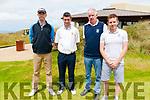Barton Shield: Members of Killarney Golf Club that took part in the Barton Shield at Ballybunion Golf Club on Sunday last. L-R : Ian Spillane, Donal Considine, Seamie O'Connor & Simon Gallivan.