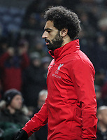 Liverpool's Mohamed Salah <br /> <br /> Photographer Andrew Kearns/CameraSport<br /> <br /> The Premier League - Burnley v Liverpool - Wednesday 5th December 2018 - Turf Moor - Burnley<br /> <br /> World Copyright &copy; 2018 CameraSport. All rights reserved. 43 Linden Ave. Countesthorpe. Leicester. England. LE8 5PG - Tel: +44 (0) 116 277 4147 - admin@camerasport.com - www.camerasport.com