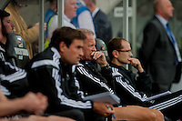 Saturday 20th September 2014  Pictured:  Alan Curtis <br /> Re: Barclays Premier League Swansea City v Southampton  at the Liberty Stadium, Swansea, Wales,UK