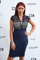Amy Childs<br /> arrives for the Amy Childs Summer Collection show at Beach Blanket Babylon, Notting Hill, London.<br /> <br /> <br /> ©Ash Knotek  D3129  06/06/2016