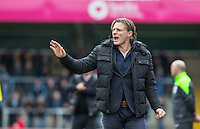 Wycombe Wanderers Manager Gareth Ainsworth during the Sky Bet League 2 match between Wycombe Wanderers and Barnet at Adams Park, High Wycombe, England on 16 April 2016. Photo by Andy Rowland.