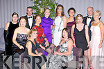 All style at the Kerry Stars ball in the Malton on Friday night front row l-r: Stella Moloney, Mary Sugrue, Oonagh McCarthy, Maria Kelly and Elaine Kavanagh. Back row: Olive Horgan, Gerard Lynch, Katriona Crowley, Carol Kelleher, Josephine Doncel, Rory Darcy and Sheila Gould