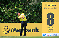 Sam Brazel (AUS) in action on the 8th tee during Round 2 of the Maybank Championship at the Saujana Golf and Country Club in Kuala Lumpur on Friday 2nd February 2018.<br /> Picture:  Thos Caffrey / www.golffile.ie<br /> <br /> All photo usage must carry mandatory copyright credit (&copy; Golffile | Thos Caffrey)