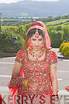 Nousheen Sultan, pictured at her Wedding day in Ballyroe Heights Hotel, Tralee, last Saturday, before meeting her groom Muhammed Tayyab.