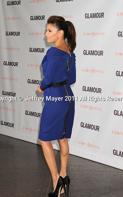LOS ANGELES, CA - OCTOBER 24: Eva Longoria attends the Glamour Reel Moments at DGA Theater on October 24, 2011 in Los Angeles, California.