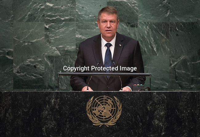 Address by His Excellency Klaus Werner Iohannis, President of Romania