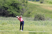 Justin Rose (ENG) tees off the 2nd tee during Thursday's Round 1 of the 117th U.S. Open Championship 2017 held at Erin Hills, Erin, Wisconsin, USA. 15th June 2017.<br /> Picture: Eoin Clarke | Golffile<br /> <br /> <br /> All photos usage must carry mandatory copyright credit (&copy; Golffile | Eoin Clarke)