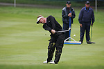 Paul Broadhurst plays his approach to the third hole in the final round of the BMW PGA Championship on the 27th of May 2007 at the Wentworth Golf Club, Surrey, England. (Photo by Manus O'Reilly/NEWSFILE)