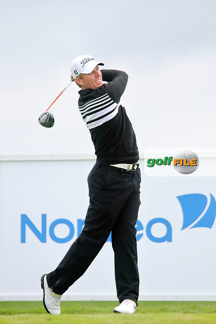 Andrew Dodt (AUS) on the 9th on Day 4 of the 2012 Nordea Masters at Bro Hof Slott Golf Club, Bro, Sweden....(Photo Jenny Matthews/www.golffile.ie)