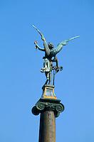 Tschechien, Prag, Cechuv-Bruecke, Detail, Unesco-Weltkulturerbe