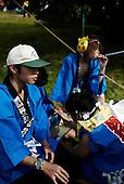 WSJ2007World Scout Jamboree 2007, pokémon mask, japan, keps, japanska kläder