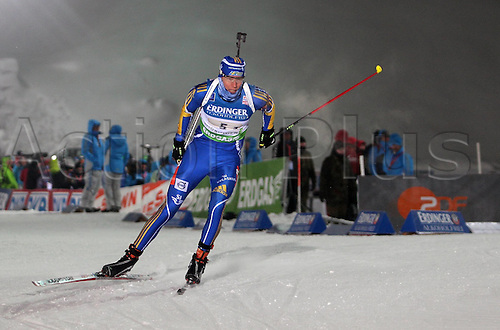 05.01.2011 Mens Biathlon World Cup from Oberhof Germany. Picture shows Mattias Nillson SWE.