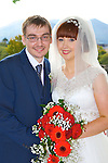 Rianne Crowley, Castleisland daughter of Michael and Jane, and Adam Maxwell, Stockport, England, son of Lesley and Chris who were married in St stephen and John church Castleisland on Satuday, Fr Sean Horgan officiated at the ceremony, best man was Philip Maxwell, groomsmen were William Owen, Colin Stockwell, Dave Crowley, bridesmaids were Sheenadh Crowley, Mairead Mcaulliffe, Marie Higgins, and Stephanie Harrison, flowergirls were Nessa McAulliffe and Clodagh O'Connor, the reception was held in the Killarney Oaks Hotel and the couple will reside in Sheffield