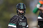12 February 2017: CSU's Danny Tesler. The Duke University Blue Devils hosted the Cleveland State University Vikings at Koskinen Stadium in Durham, North Carolina in a 2017 Division I College Men's Lacrosse match. Duke won the game 22-7 in overtime.