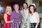 Jackie Kehoe, Eileen Cronin, John O'Sullivan President, and Deborah Wynne  at the Killarney Rotary fashion show in the Malton on Saturday