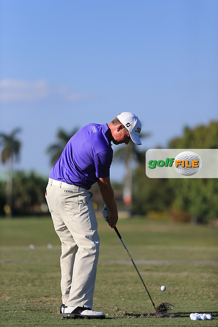 Web Simpson (USA) on the range.during practice at the WGC Cadillac championship at Doral Golf Resort & Spa,Doral, Florida,USA..Picture: Fran Caffrey / www.golffile.ie ..