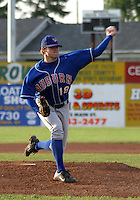 July 28, 2003:  Pitcher Kurt Isenberg (18) of the Auburn Doubledays, Class-A affiliate of the Toronto Blue Jays, during a game at Dwyer Stadium in Batavia, NY.  Photo by:  Mike Janes/Four Seam Images