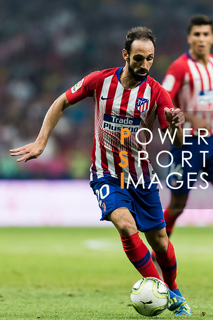 Juan Francisco Torres Belen, Juanfran, of Atletico de Madrid in action during their International Champions Cup Europe 2018 match between Atletico de Madrid and FC Internazionale at Wanda Metropolitano on 11 August 2018, in Madrid, Spain. Photo by Diego Souto / Power Sport Images