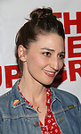 "Sara Bareilles attends the Opening Night of The New Group World Premiere of ""All The Fine Boys"" at the The Green Fig Urban Eatery on March 1, 2017 in New York City."