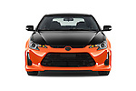 Car photography straight front view of a 2015 Scion tC Release Series 9.0 2 Door Coupe Front View