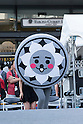Nishikokubunji mascot character Nishiko-kun attends the ''Local Characters Festival in Sumida 2015'' on May 31, 2015, Tokyo, Japan. The festival is held by Sumida ward, Tokyo Skytree town, the local shopping street and ''Welcome Sumida'' Tourism Office. Approximately 90 characters attended the festival. According to the organizers the event attracts more than 120,000 people every year. The event is held form May 30 to 31. (Photo by Rodrigo Reyes Marin/AFLO)