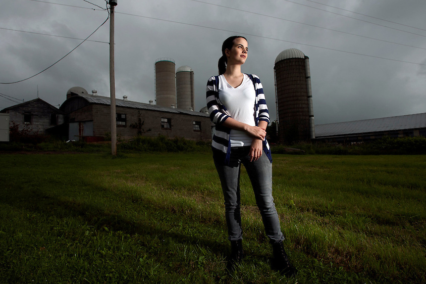 Larissa Fallon (25) worked for one of the main mining companies in Northern Pennsylvania and claims she was directed to falsify enviromental records  Larissa  comes from a dairy farming family. After fracking commenced in their area the water went so bad that even the cows refused to drink it causing the milk yield to drop, and infused their milk with all sorts of toxins. This has forced the already heavily indebted farm close to bankruptcy and the only viable solution to save the family farm is to lease it to the mining companies for fracking - the very people who they believe caused their problem.