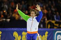 SCHAATSEN: HEERENVEEN: 14-15-16-03-2014, IJsstadion Thialf, World Cup Finale, afscheid Mark Tuitert, ©foto Martin de Jong