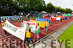 The Grand parade at the Community Games finals at An Riocht on Saturday
