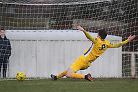 George Sykes of Canvey just fails to connect to give his side the lead during AFC Hornchurch vs Canvey Island, Bostik League Division 1 North Football at Hornchurch Stadium on 10th March 2018