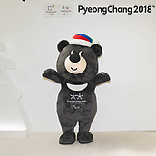 7th February 2017; London UK; Macots of the upcoming PyeongChang 2018 Winter Olympic Games at London Korean Festival 2017. London, UK.