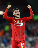 Liverpool's Alex Oxlade-Chamberlain celebrates<br /> <br /> Photographer Alex Dodd/CameraSport<br /> <br /> Emirates FA Cup Third Round - Liverpool v Everton - Sunday 5th January 2020 - Anfield - Liverpool<br />  <br /> World Copyright © 2020 CameraSport. All rights reserved. 43 Linden Ave. Countesthorpe. Leicester. England. LE8 5PG - Tel: +44 (0) 116 277 4147 - admin@camerasport.com - www.camerasport.com